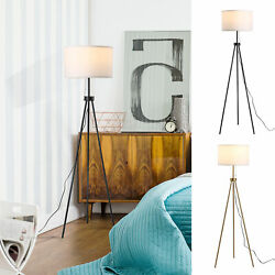 Modern Tall Floor Reading Light Fixture with Footswitch Pedal $59.99