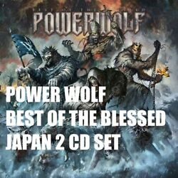 POWER WOLF BEST OF THE BLESSED JAPAN 2 CD SET $37.80