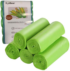 Compostable Trash Bags 2.6 Gallon Small Disposable Compost Bags 150 Count Bags $16.68