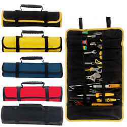 Tool Pocket Bags Roll Up Storage Organizer Bag Pouch Multi-function Electrician $10.59