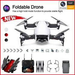 Foldable Quadcopter WIFI FPV Drone 1080P Camera Selfie RC Rechargeable Battery $47.67