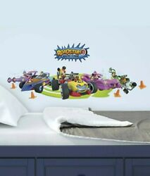 Mickey and the Roadster Racers RoomMates Vinyl Wall Bedroom Decals Stickers 3 $10.99