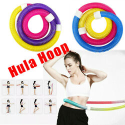 Bodybuilding Spring Hula Hoop Lose Weight Exercise Workout Equipment Fitness $17.99