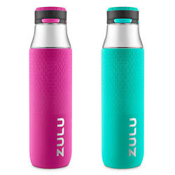 Zulu 32 oz. Studio Chug Tritan Water Bottles 2 Pack Assorted Colors $19.99