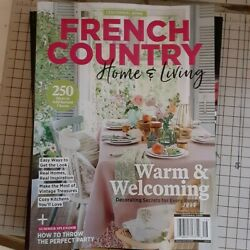 FRENCH COUNTRY HOME amp; LIVING JUNE 2020 $8.99