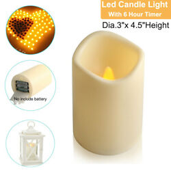 Flameless Candles Flickering LED Tea Light Battery Operated with 6 Hour Timer US $3.99