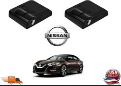 2 Pcs Wireless Led Car Door Logo Projectors Welcome Lights For Nissan $19.89