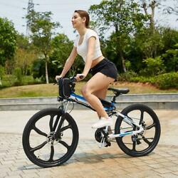26 Folding Electric Mountain City Bicycle 250W EBike Shimano Lithium Battery US $769.99