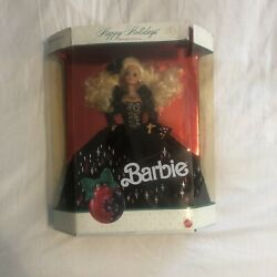 1991 Happy Holidays Barbie Special Edition Unopened w Damaged Packaging $9.50