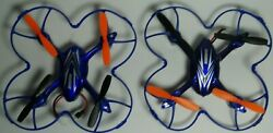 Lot 2 Haktoys HAK904C Mini 2.4GHz RC Quadcopter Drone with Camera Parts As Is $19.99