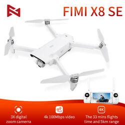 FIMI X8SE 2020 Version Camera RC Drone FPV 3-axis Gimbal 4K Camera HDR Video GPS $611.99
