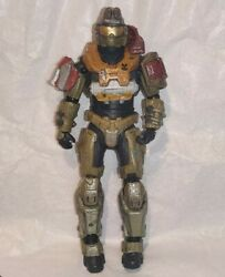 Halo Reach Jorge Series 1 McFarlane Toys 2010 Loose with Backpack Action Figure $19.99