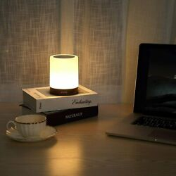 iFkoo Rechargeable Night Light with Hook Touch Sensor Bedside Lamp for Bedroom $21.25