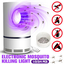 Mosquito Killer USB Charger Electronic Indoor Zapper Trap Inhaled Insect Fly Bug $16.46