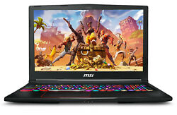NEW MSI Raider RGB Gaming 15.6quot; i7 9750H NVIDIA RTX 2060 32GB 512GB SSD 1TB HDD $1339.99