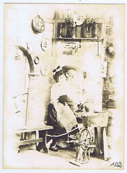 ITALY Sweethearts Rustic Room Interior Antique Photo c1900 by Bozetto of Vicenza GBP 9.95