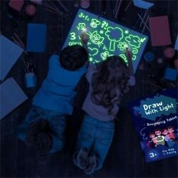 Light Up Magic Drawing Board LED Light Fun And Developing Toy Educational Gifts $7.99