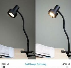 O'Bright LED Clip on Light Desk Dimmable LED Desk Lamp with Metal Clamp 5W LED $36.99