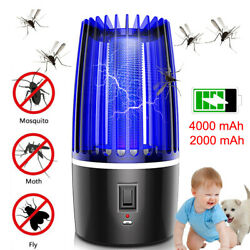 2020 USB Electric Insect Bug Zapper Fly & Mosquito Killer Trap Lamp W UV Light $15.98