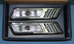 Crystal Side Marker Indicator Light Z3 Look FOR #x27;1989 #x27;1995 BMW B5 E34 5 Series $45.00