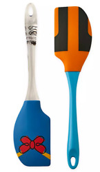 Disney Parks Spatula Set Silicone Donald Goofy Icon Kitchen Collection New $19.87