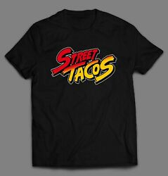 STREET TACOS VIDEO GAME PARODY HIGH QUALITY SHIRT *MANY SIZE OPTIONS $24.99