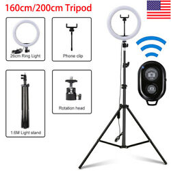 LED Ring Light Video Studio Photo Dimmable Lamp Tripod Stand Selfie Camera Phone $17.99