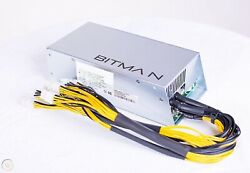 Bitmain Power Supply PSU Antminer APW3 for S9 or L3 or D3 $9.95