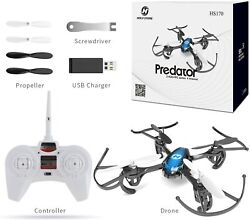 Holy Stone HS170 Predator Mini RC Helicopter Drone 2.4Ghz 6 Axis Gyro 4 Channels $29.99