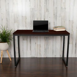 Commercial Grade Industrial Style Office Desk - 47