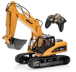 Excavator Toy Remote Control Large RC Digger Truck Construction Tractor Replica $141.99