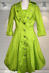 Frank Lyman Frock Coat Dress Summer Holiday Cruise Wedding Party Occasion Races $45.82