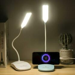 LED desk lamp eye secure student dormitory recharger design inventive gift suppo $8.74