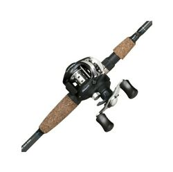 Shakespeare FISHING ROD COMBO and BAITCAST REEL Agility Low Profile Fish Set New $59.99