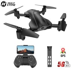 Holy Stone HS165 GPS drone with camera 1080P foldable 5G wifi FPV RC Quadcopter $119.99