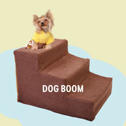 Pet Stairs 3 Steps for High Beds Small Dog Ramp Little Cat Puppy Climb Ladder $21.99