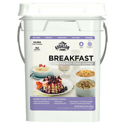 Emergency Breakfast Food Supply Survival 162 Servings Storage Pail Kit NEW $83.43