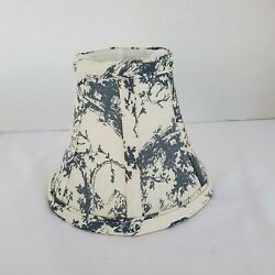 Small Fabric Bell Shape Lamp Shade Clip On 5#x27;#x27; Tall Canvas Type Material $13.29