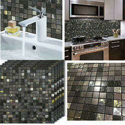 12x12#x27;#x27; Peel And Stick Tile Backsplash Self Adhesive for Bathroom Kitchen Wall $9.99