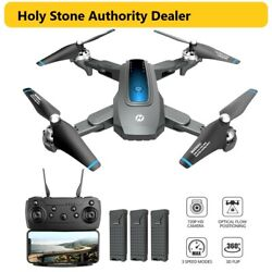 Holy Stone HS240 4K HD Camera Drone Foldable Quadcopter 3 Battery Selfie Tapfly $85.99