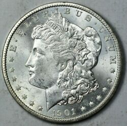 1901-O $1 Morgan Silver Dollar Mint State Uncirculated MS UNC