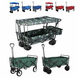 New Collapsible Wagon Cart Utility Durable Portable Large Folding Tool Trolley $47.99
