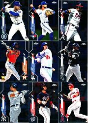 2020 Topps Chrome - BASE & ROOKIE CARDS - Card #s 1-200 - U Pick From List $34.95