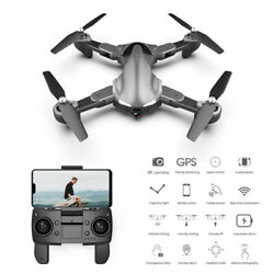A19 Drone Gps 4k 5g Wifi Live Video Fpv Quadcopter Flight 15 Minutes Rc Drone $93.09