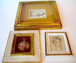 Framed Pictures Italian Decor Lot of 3 $32.95