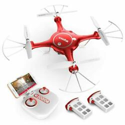 Syma X5UW Wi Fi FPV 2.4Hgz RC Drone Quadcopter FPV 720p HD Camera Flight Plan $109.99