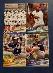 2020 Topps Series 2 Decade#x27;s Best Inserts with Chrome Blue and Black 299 U Pick $4.99
