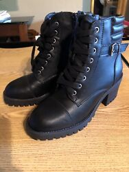 Madden NYC Womens Boots Size 6 Black Harrlee Retail $69.99 s boot 14 $24.11