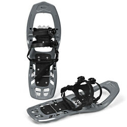 22inch Lightweight All Terrain Snowshoes for Men Women w Bag Anti Slip Grey $45.75