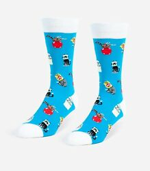 Stuck Cats Unisex Large Socks $7.28